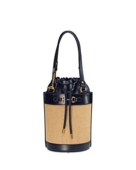 Gucci - 1955 Horsebit Small Canvas Bucket Bag