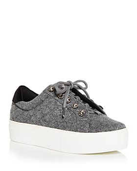 KURT GEIGER LONDON - Women's Liviah Low Top Platform Sneakers