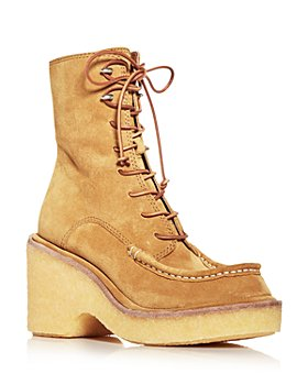 rag & bone - Women's Scout Moc Toe Wedge Platform Booties