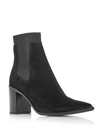 rag & bone - Women's Brynn Pointed Toe High Block Heel Booties