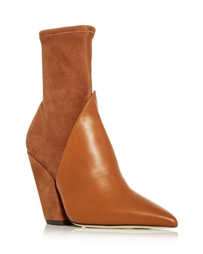 Burberry Women's Rose Pointed Toe High Heel Booties    Bloomingdale's