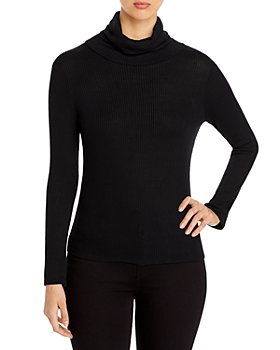 Elan - Ribbed Turtleneck Top