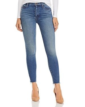 Mother The Stunner Skinny Ankle Jeans in So Long