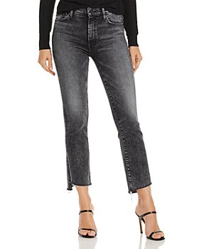MOTHER - The Insider Cropped Step Hem Jeans in Train Stops