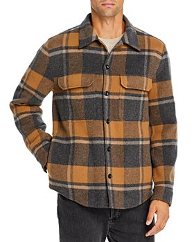 Vince - Slim Fit Plaid Overshirt