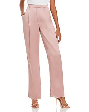 Vince Liquid Shine Straight Leg Pants-Women