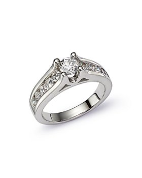 Bloomingdale's - Channel Set Engagement Ring in 14K White Gold, 1.0 ct. t.w. - 100% Exclusive