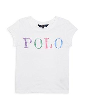 Ralph Lauren - Girls' Logo Tee - Little Kid, Big Kid
