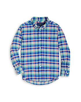 Ralph Lauren - Boys' Plaid Poplin Shirt - Little Kid
