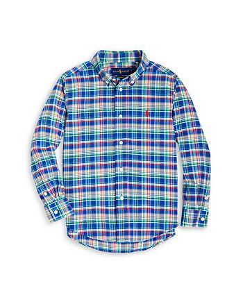 Ralph Lauren - Boys' Plaid Poplin Shirt - Little Kid