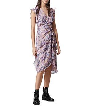 ALLSAINTS - Reila Masala Faux Wrap Dress