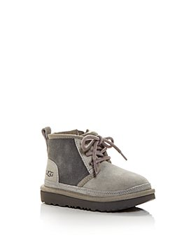 UGG® - Unisex Neumel II Suede Lace Up Boots - Walker, Toddler
