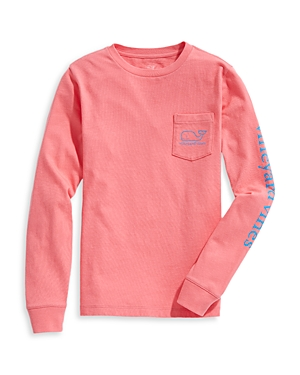 Vineyard Vines Long Sleeve Glow in the Dark Tee - Little Kid, Big Kid-Kids
