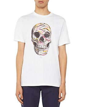 PS Paul Smith - Fish Skull Cotton Graphic Tee