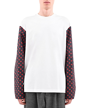 Marni Smiley Sleeves Long Sleeve Tee