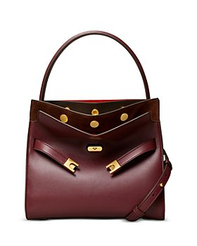 Tory Burch - Lee Radziwill Small Leather Convertible Satchel