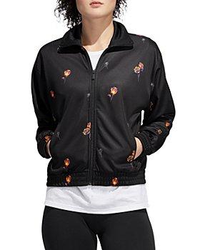 Adidas - Floral Print Track Jacket