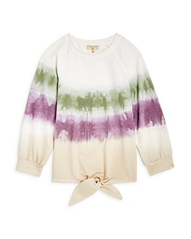 Hayden Los Angeles - Girls' Tie Dye Ombré Top -Big Kid