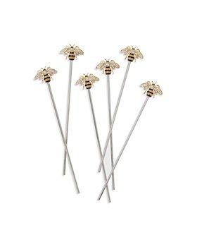 Joanna Buchanan - Stripey Bee Swizzle Sticks