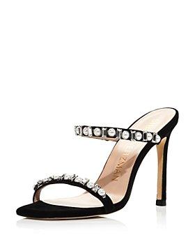 Stuart Weitzman - Women's Aleena Embellished High-Heel Sandals