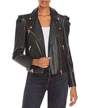 BLANKNYC - Faux Leather Moto Jacket