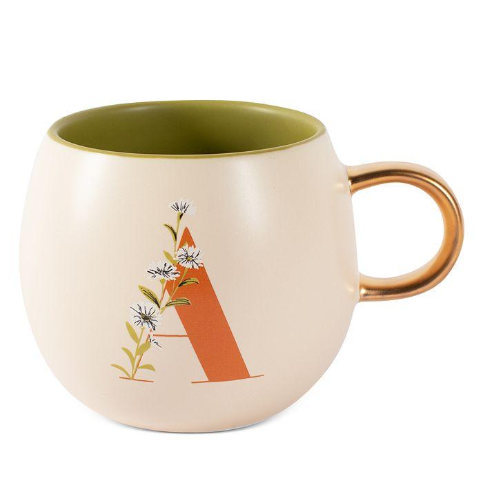 Fringe - Monogram Floral Round Mug