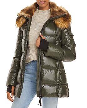 AQUA - Luxe Gramercy Hooded Puffer Jacket - 100% Exclusive