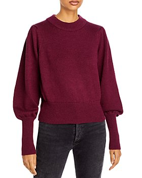 FRENCH CONNECTION - Balloon Sleeve Sweater