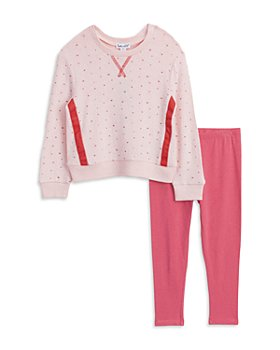 Splendid - Girls' Star Hacci Top & Leggings Set - Little Kid