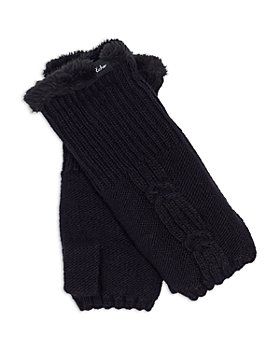Echo - Cable Knit Fingerless Gloves - 100% Exclusive