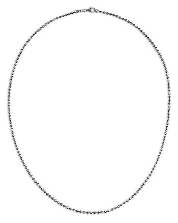 JOHN HARDY - Men's Sterling Silver Classic Ball Link Chain Necklace, 26""