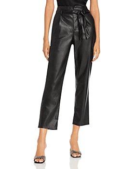 PAIGE - Melila Faux Leather Pants