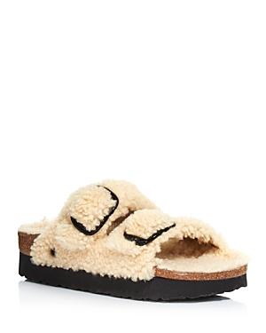 Birkenstock Women\\\'s Papillo Arizona Shearling Slide Sandals - 100% Exclusive