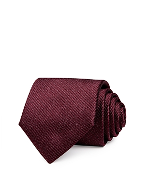 Canali Abstract Floral Silk Classic Necktie-Men