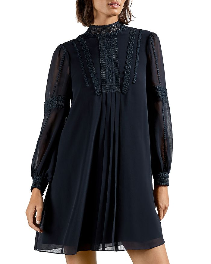 TED BAKER GEORRGI LACE TUNIC DRESS