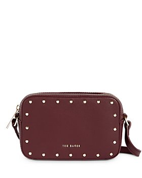 Ted Baker - Studded Leather Camera Crossbody