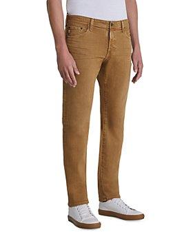 AG - Tellis Slim Fit Jeans in 7 Years Sulfur Roasted Seed