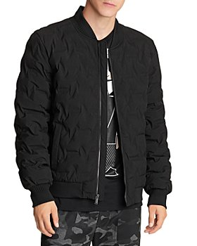 KARL LAGERFELD PARIS - Quilted Bomber Jacket