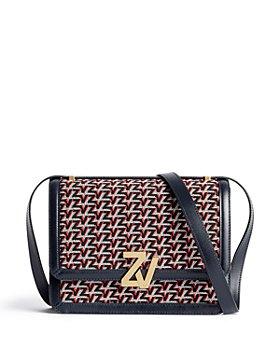 Zadig & Voltaire - ZV Initiale Monogram Shoulder Bag