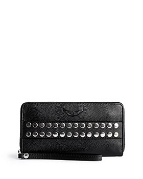 Zadig & Voltaire - Compagnon Studded Leather Wristlet