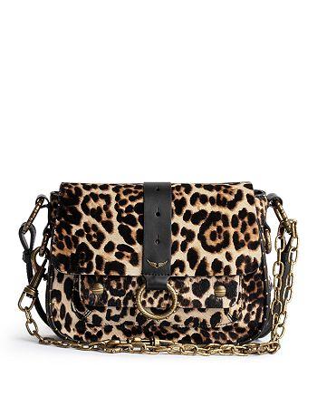 Zadig & Voltaire - Kate Leather & Calf Hair Shoulder Bag