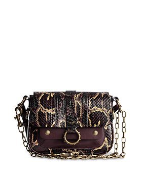 Zadig & Voltaire - Kate Snake Embossed Leather Crossbody