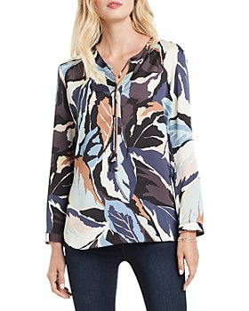 NIC and ZOE - Mixed Ivy Printed Blouse