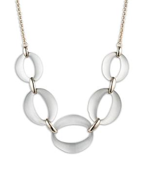 Alexis Bittar Large Five-Link Necklace, 16