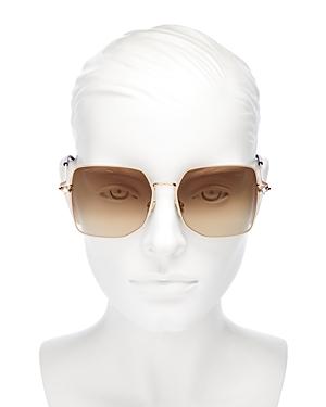 Jimmy Choo Women's Square Sunglasses, 58mm