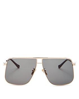Karen Walker - Women's Furnace Brow Bar Square Sunglasses, 65MM
