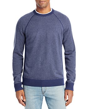Vince - Bird's Eye Wool & Cashmere Crewneck Sweater