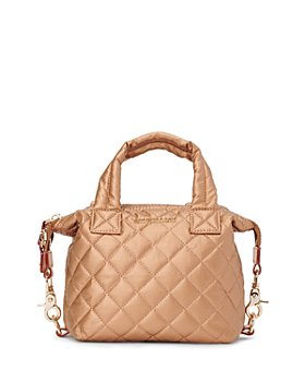 MZ WALLACE - Copper Metallic Micro Sutton Bag
