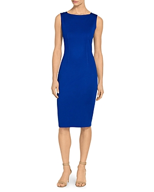 St. John MILANO KNIT BATEAU NECK DRESS