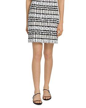 St. John - Artisanal Plaid Skirt